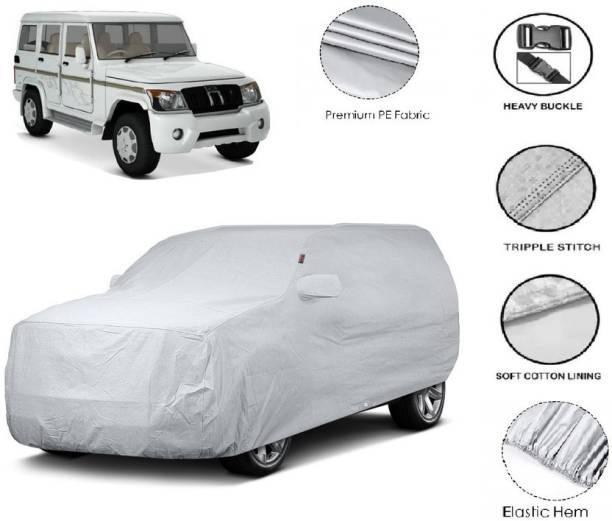 GIFFEN Car Cover For Mahindra Bolero (With Mirror Pockets)