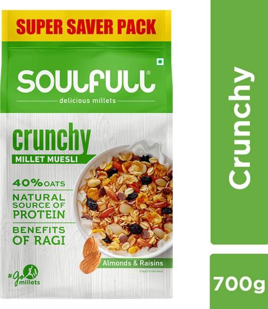 SOULFULL Millet Muesli Crunchy