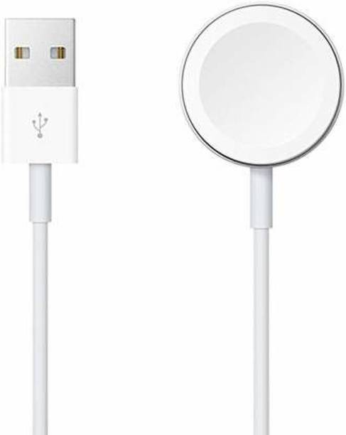 housemate Wireless Charger for Apple Watch Series 1/Series 2 /Series 3 /Series 4,USB Magnetic Charging Cable 1 mtr for iPhone Charging Pad Charging Pad