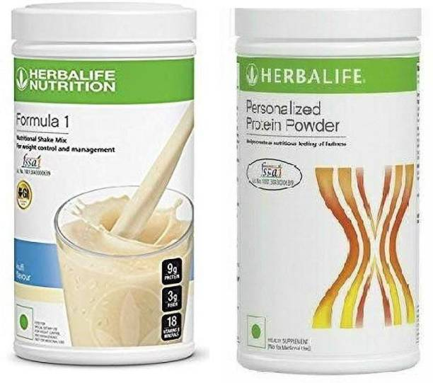 HERBALIFE Formula 1 Kulfi Shake With Personalized Protein Powder Combo