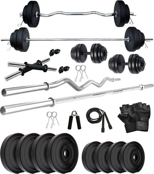 KRX 20 kg PVC 20 KG COMBO 2 WB Home Gym Combo