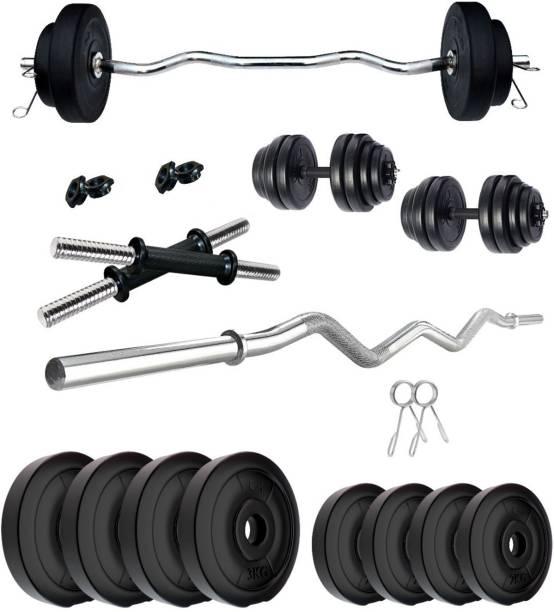 KRX 20 kg PVC 20 KG COMBO 3 WB Home Gym Combo