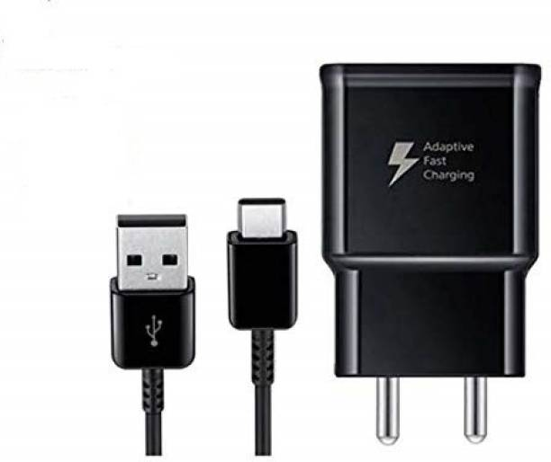 Vooy Wall Charger Accessory Combo for Samsung Galaxy S8, S8 Edge, C9Pro, C7 Pro, 2017, A7, 2017 2Amp Fast Type-C Charger with Type- C USB Data Cable