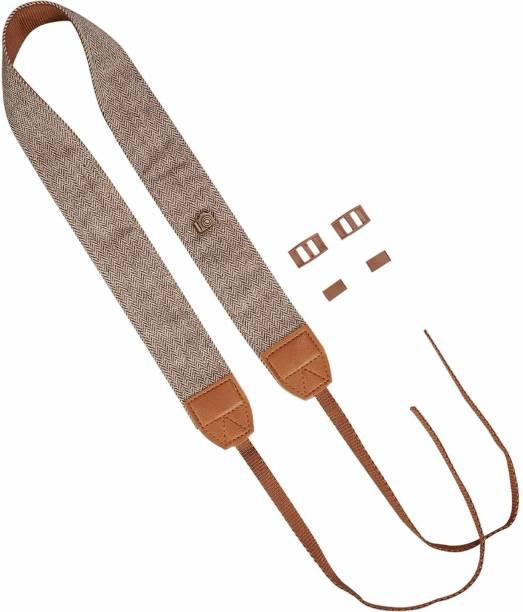 SAFESEED Universal Adjustable Cotton Leather Camera Shoulder Neck Strap For SLR / DSLR Camera Strap