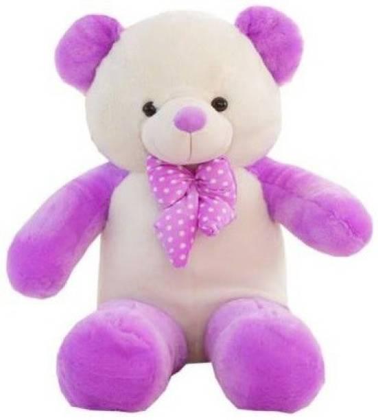 TEDDYIA 3 Feet Cute Color Panda and Soft Teddy Hugable Teddy for Gift  - 90.5 cm