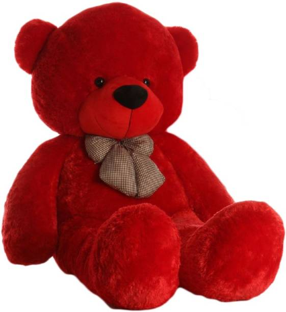 Little Laughs 4 Feet Long (Standing) Cute Soft Teddy Bear For Gift & Bithday Partys Other  - 125