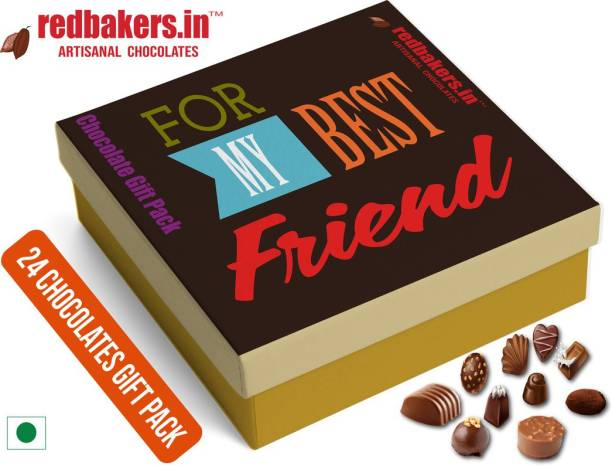 redbakers.in BestFriend 24Chocolate Gift Box Truffles