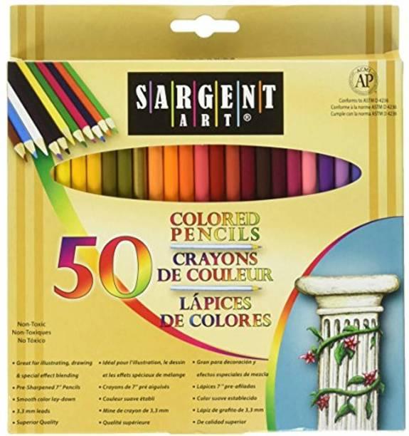 Sargent Art Art Creation Round Shaped Color Pencils