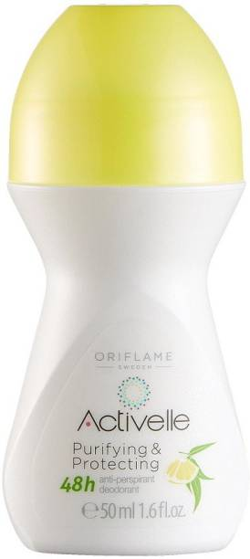 Oriflame Sweden Activelle - Purifying & Protecting Roll ON -50 ml Deodorant Roll-on  -  For Men & Women