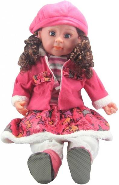 Kmc kidoz Musical Poem Doll, Baby Doll (Multicolor)