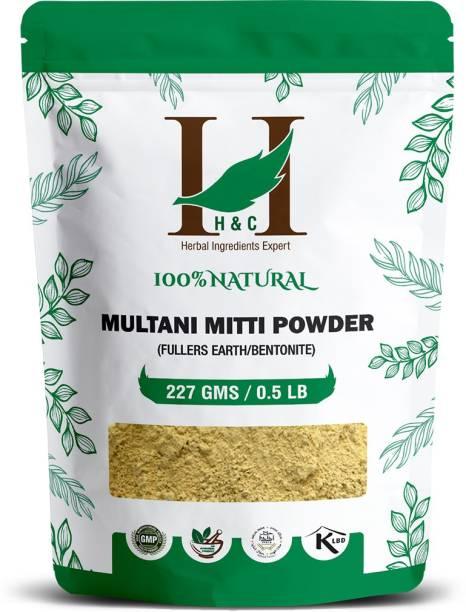 H&C 100% Natural Fullers Earth Powder