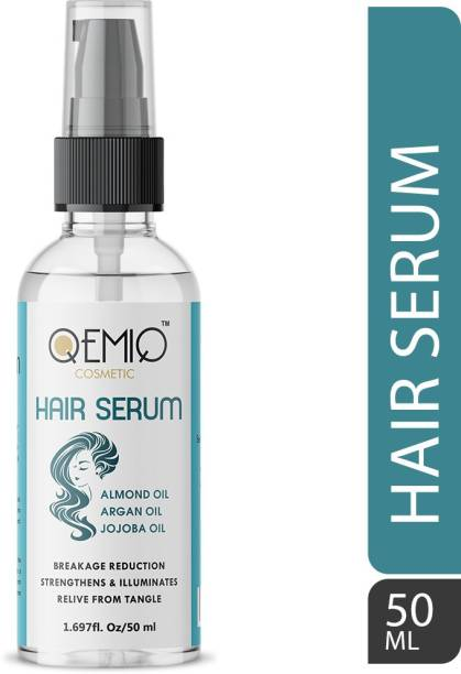 QEMIQ Hair Serum for Instant Smoothing, Repairing and Shining
