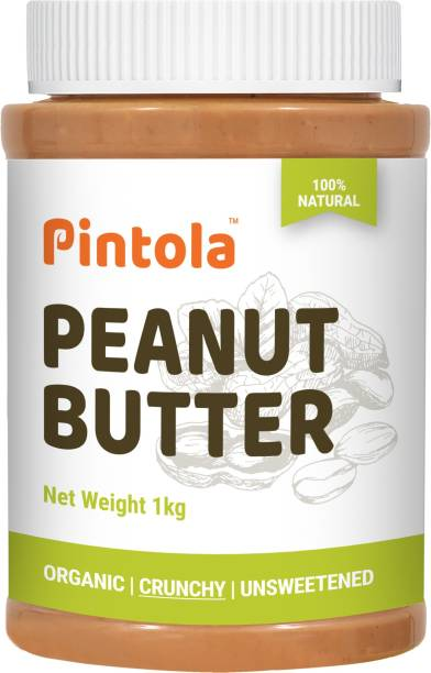 Pintola Organic Peanut Butter (Crunchy) 1 kg