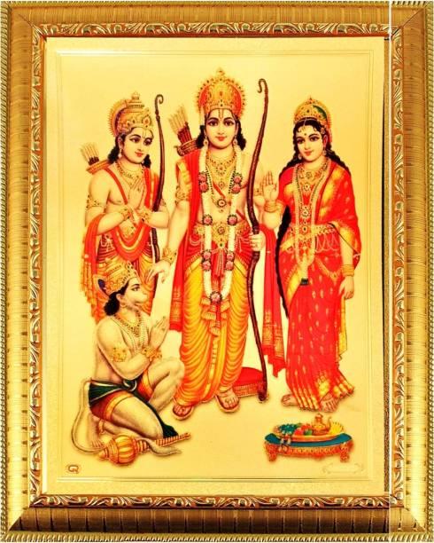 SUNINOW Ram Darbar God Photo Religious Frame
