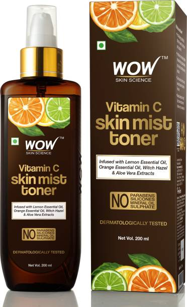 WOW SKIN SCIENCE Vitamin C Skin Mist Toner Men & Women