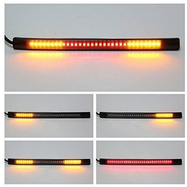 shine motorz Rear LED Indicator Light for Universal For Bike Universal For Bike