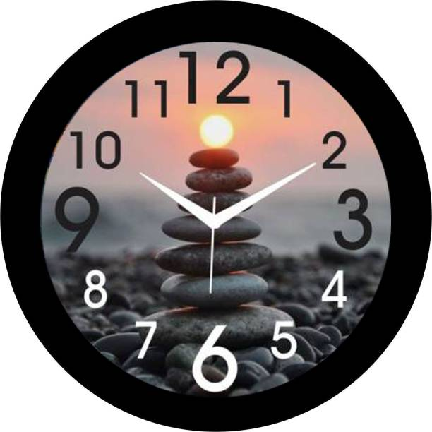 Brothers creation Analog 26 cm X 26 cm Wall Clock