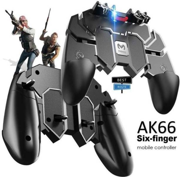 Attrrix AK66 6 Finger All-in-One Mobile Game Controller Fire Key Button for PUBG  Gaming Accessory Kit