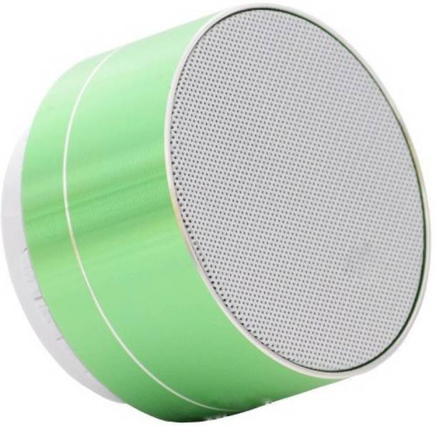 KRAZZY INDIA A10Green speaker34646 3 W Bluetooth Speaker
