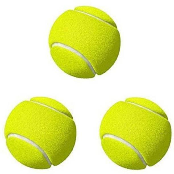 Aryan Sports Green Rubber Heavy Weight Tennis Cricket Ball Tennis Ball