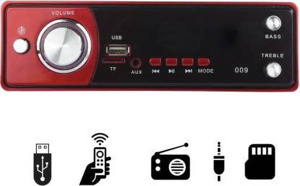 JBRIDERZ Red Single Din USB/FM/AUX/MMC Car Stereo (Single Din) Car Stereo
