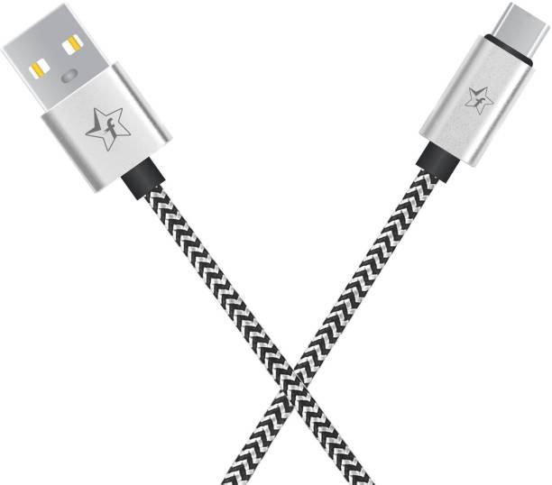 Flipkart SmartBuy ACRBD1M03 2.4 A 1 m USB Type C Cable
