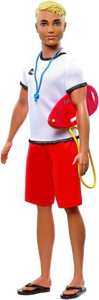 BARBIE Career Ken Lifeguard Doll