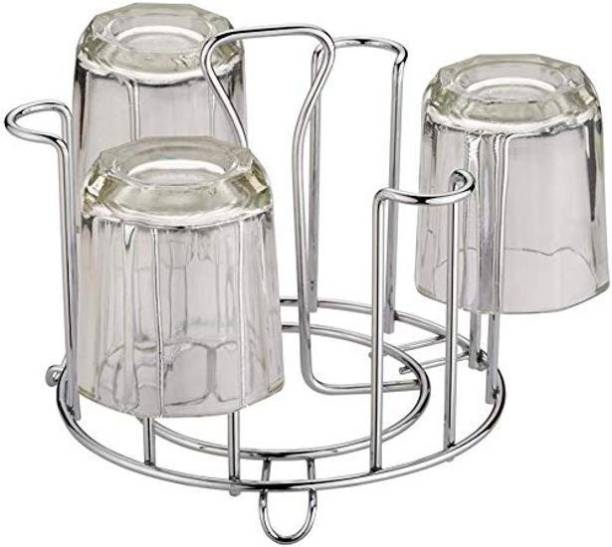 Pokal glass cup holder 8 Stainless Steel Glass Holder