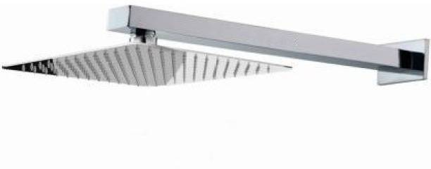 Freshly Stainless Steel 6X6 inch Ultra Slim Square Rain Shower Head with 12inch square arm Shower Head