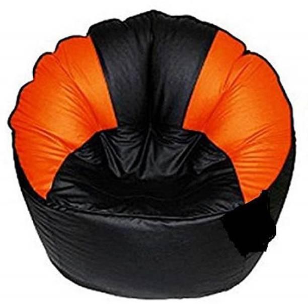 Gunj XXXL Chair Bean Bag Cover  (Without Beans)