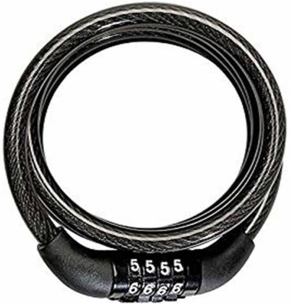 Pancikaa Bicycle Number lock Multipurpose(Black) Cycle Lock