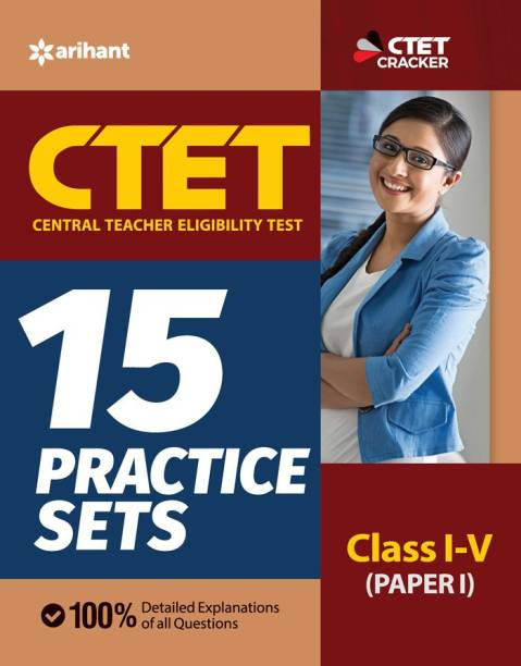 15 Practice Sets Ctet Paper-1 Teacher Selection for Class 1 to 5 2020