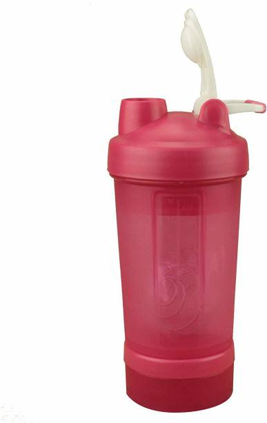 GREENSTAR Pink Gym Protein Shaker for Fitness, Sports 450 ml Shaker