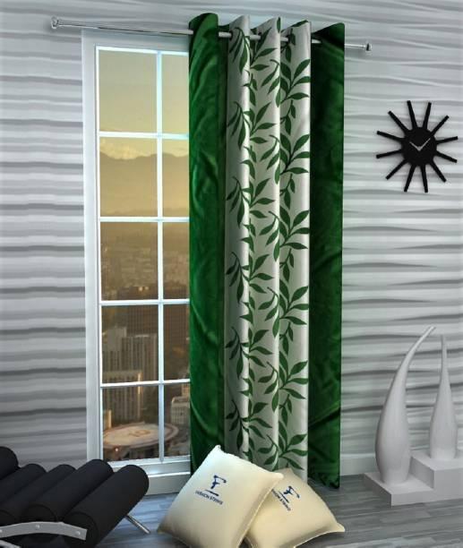 Adimanav 152.4 cm (5 ft) Polyester Window Curtain Single Curtain