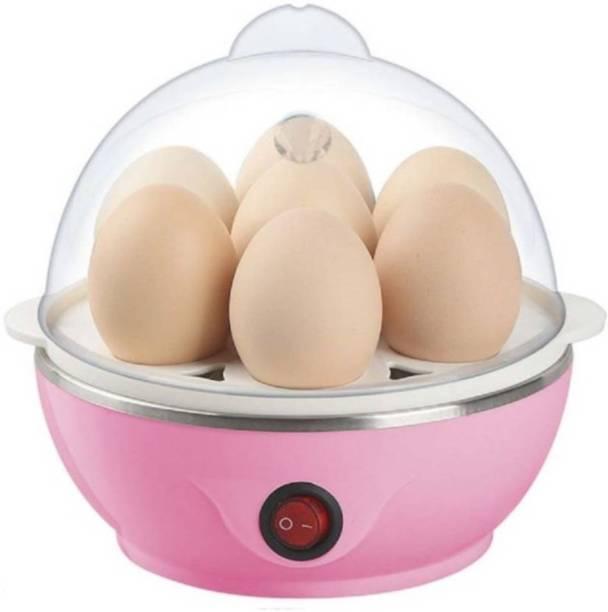 Ketsaal Multifunctional Egg Boiler Egg Cooker (Pink, 7 Eggs) Electric Egg Boiler Egg Cooker