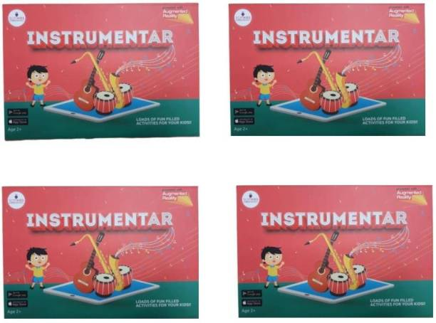 SCIFIKIDS Instrumental Augmented Reality (Red) pack 4:3