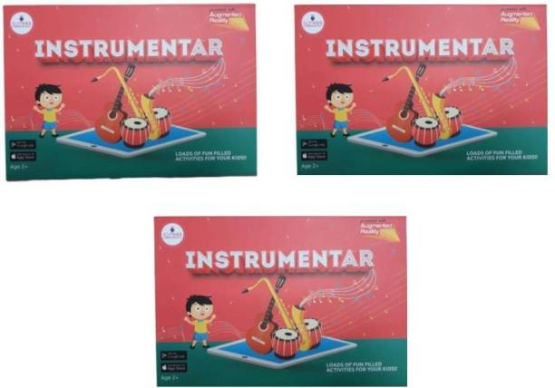 SCIFIKIDS Instrumental Augmented Reality (Red) pack :3