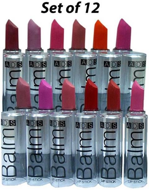 SWIPA Combo Balm Matte Lipstick Pack Of-12