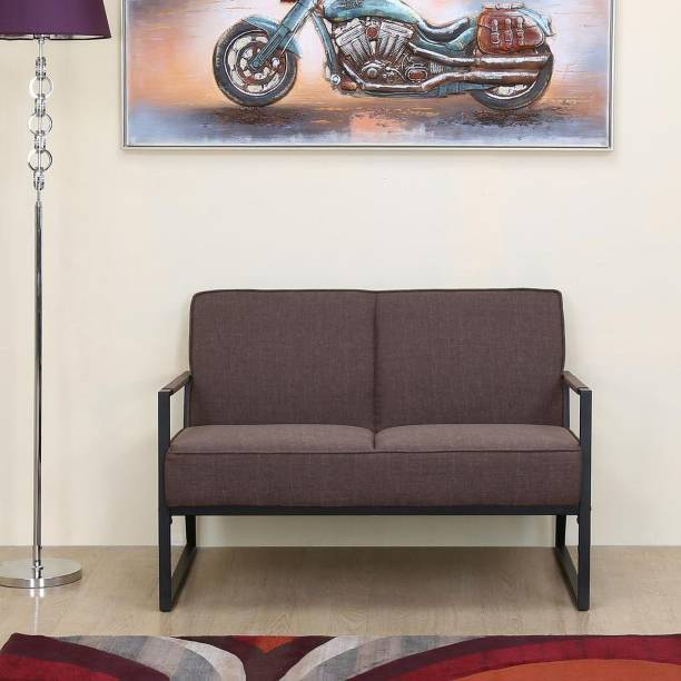 @Home by nilkamal Remus Fabric 2 Seater  Sofa