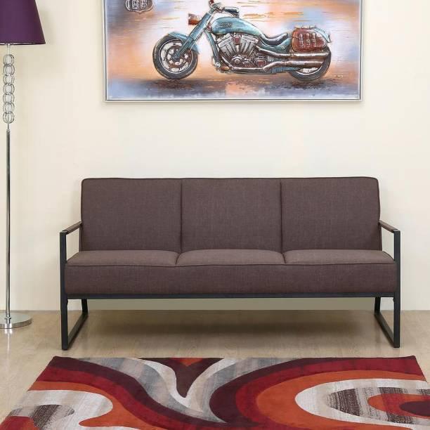@Home by nilkamal Remus Fabric 3 Seater  Sofa