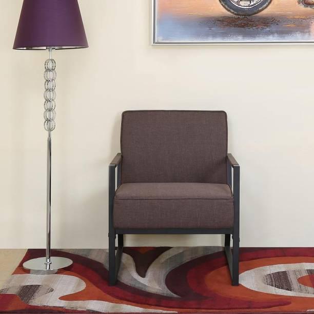 @Home by nilkamal Remus Fabric 1 Seater  Sofa