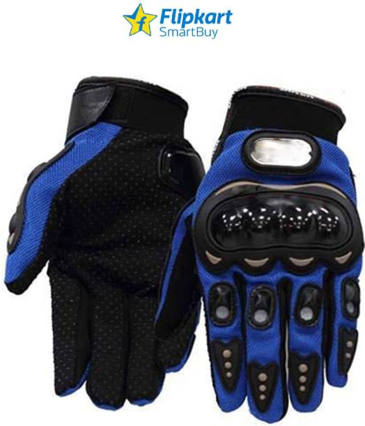Flipkart SmartBuy Blue Gloves_L Riding Gloves