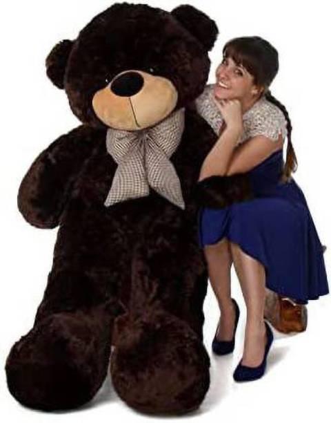 Teddy sport 3 Feet Chocolate Soft Sweet Teddy Bear 91 cm  - 91 cm