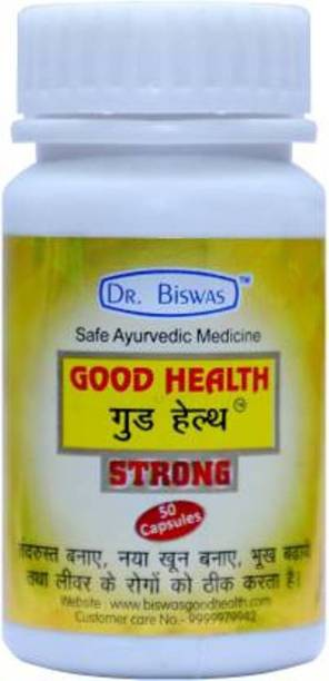 Dr. Biswas GOOD HEALTH STRONG PACK OF 4 (200) TAB