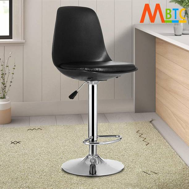 MBTC Rapid Black Natural Fiber Bar Chair