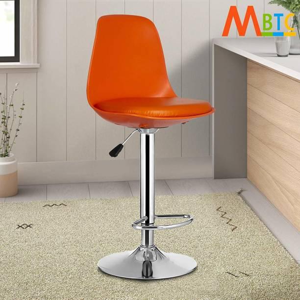 MBTC Orange Natural Fiber Bar Chair