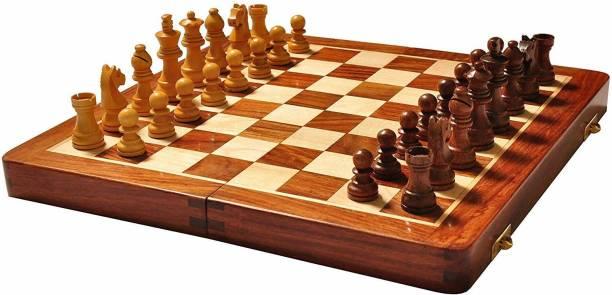 Capella Wooden 12 Inches 2.54 cm Chess Board