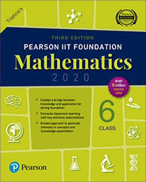 Pearson Iit Foundation Class 6 Mathematics
