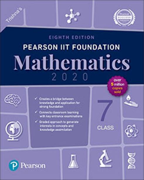 Pearson Iit Foundation Series Class 7 Mathematics