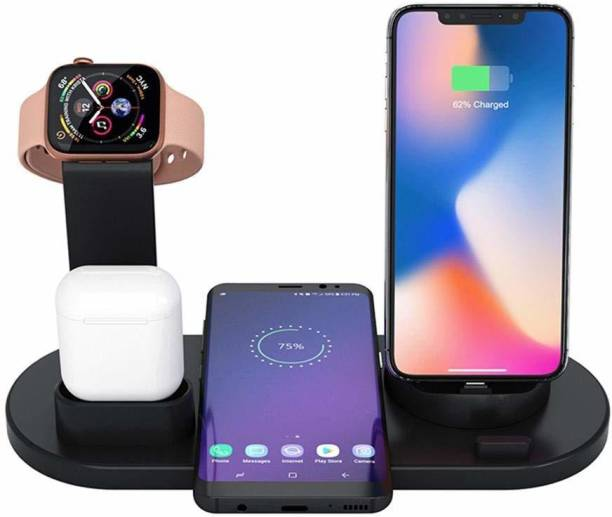 blue seed BBD-4 in 1 Wireless Charger Suitable for for and , 10W/7.5W Fast Charging for iPhone 11/11 Pro Max Charging Pad